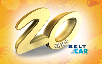 Selo Belt Car • 20 anos